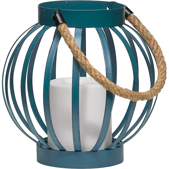 Lantern with Battery-Operated Candle - Assorted