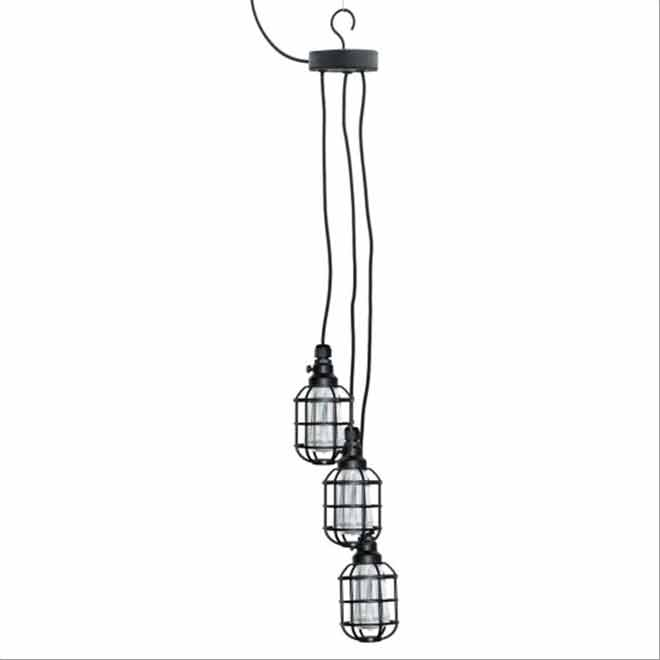 Set of 3 Solar Hanging Lights