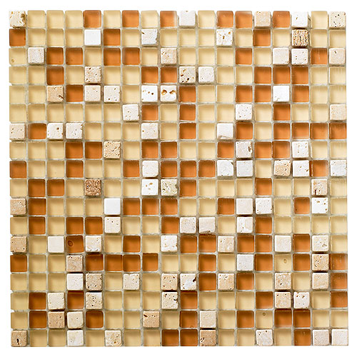 """Mosiaco"" Glass and Stone Wall Tiles"