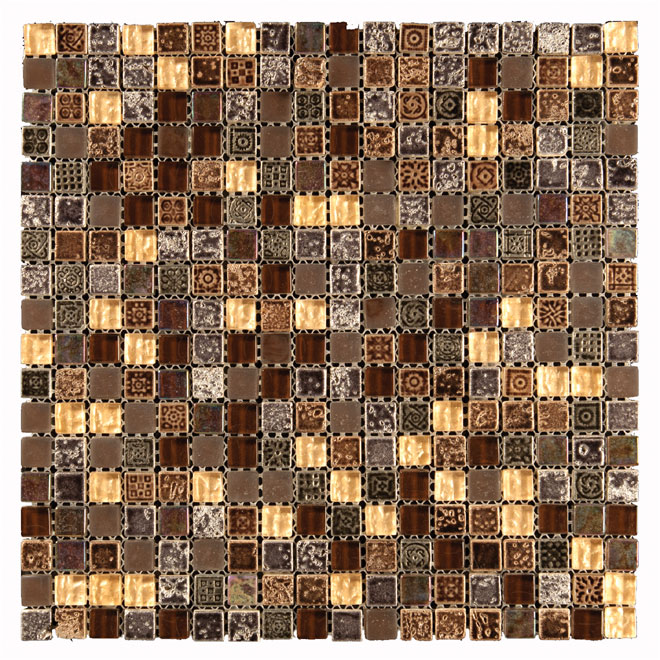Bathroom Tiles Rona : Mosaic wall tile rona