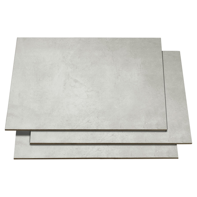 """Advance Grey"" Porcelain Tile - 16"" x 24"""