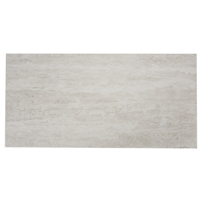 Porcelain Tiles - Wall/Floor - Grey/White - 8/Box