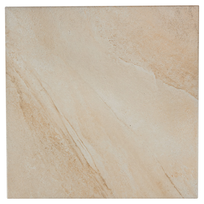 "Ceramic Tiles - 16"" x 16"" - 11/box - Beige"