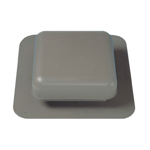 "Universal Roof Vent 17 1/8"" x 16 3/4"" - Grey"