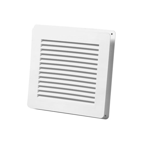 "Wall Vent 6"" x 6"" - White"