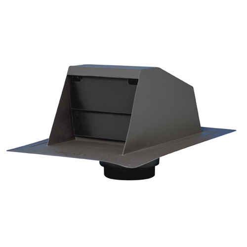 Range Hood Roof Vent with Adapter Collar