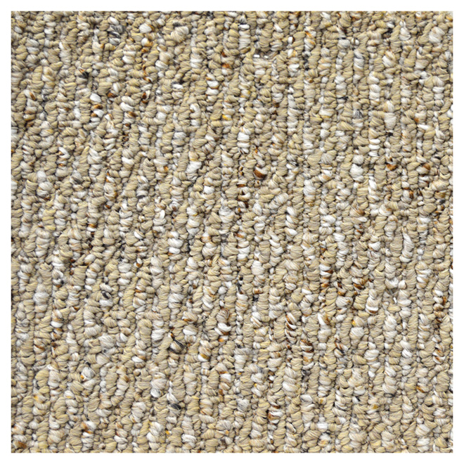 Enhanced Textured Loop Carpet - Maple Wood
