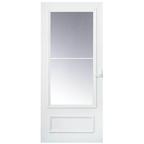 """Bon Air 2 Lite"" Triple Track Storm Door 32""-White"