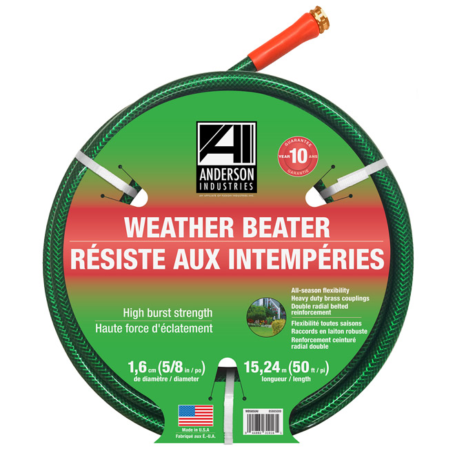 """Weather Beater"" Garden Hose - 5/8"" x 50'"