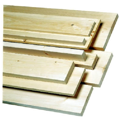 "Knotty White Pine Board - 1"" x 6"" x 10'"