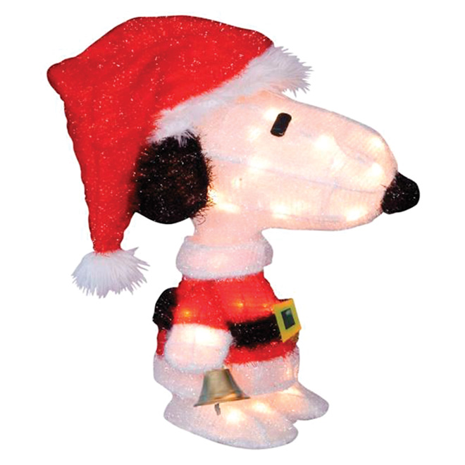 "Lighted ""Snoopy"" - 50 Lights - 22"""