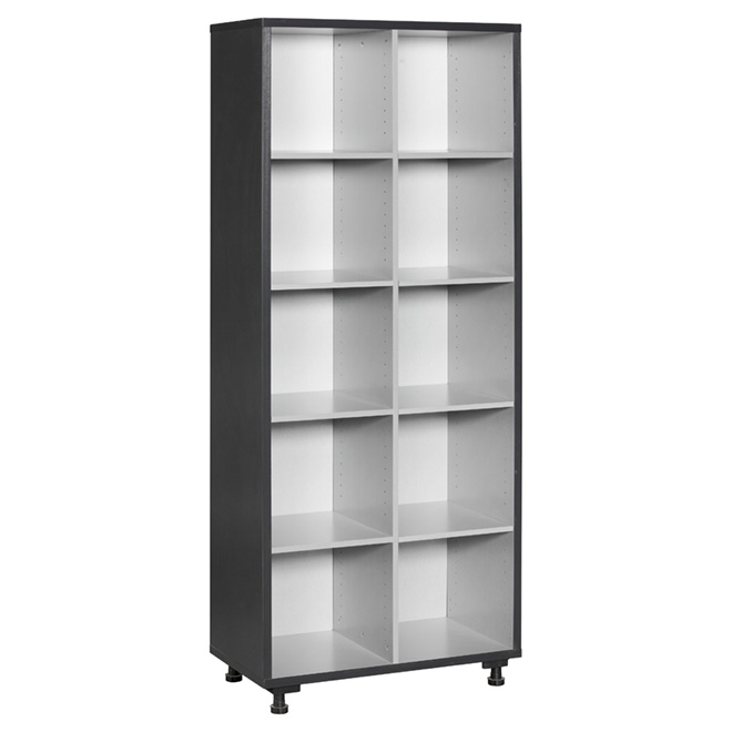 "10-Compartment Tower, 31.25"" x 76.3"""
