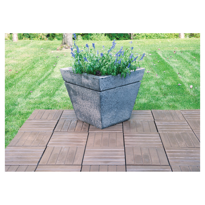 "Rustica Patio Paver - 15"" x 15"" - Brown"