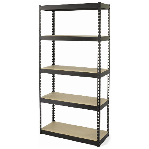 5 shelf unit rona for Etagere modulable garage toulouse