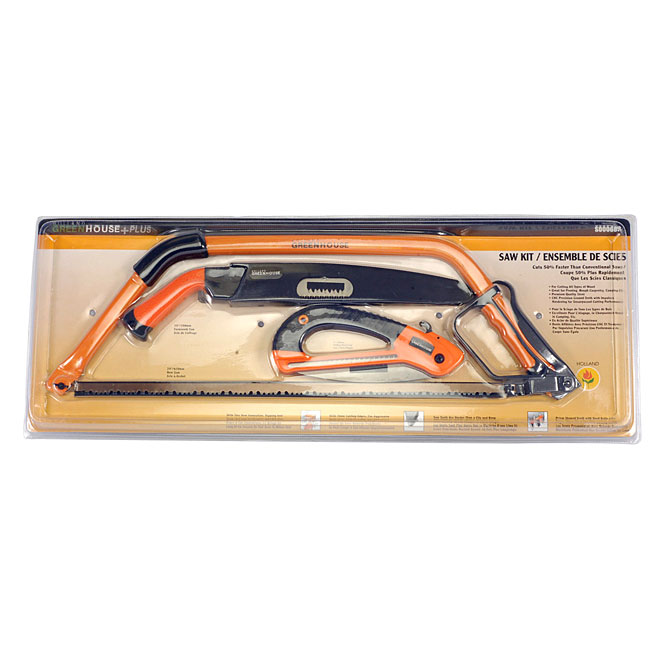 3-Piece Garden Saw Set