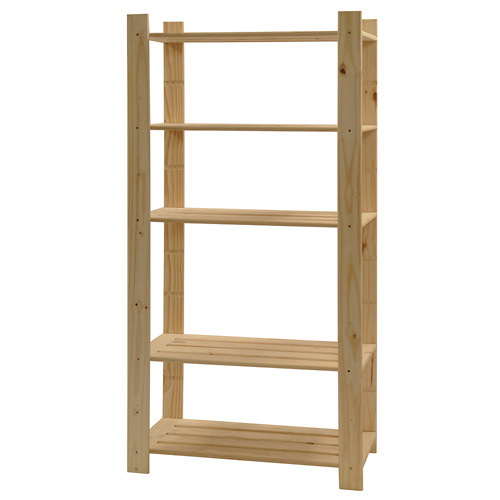 build wooden shelving units | ehow, How to build wooden shelving units ...