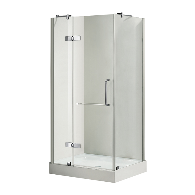 Porte de douche bayonna rona for Installer porte de douche