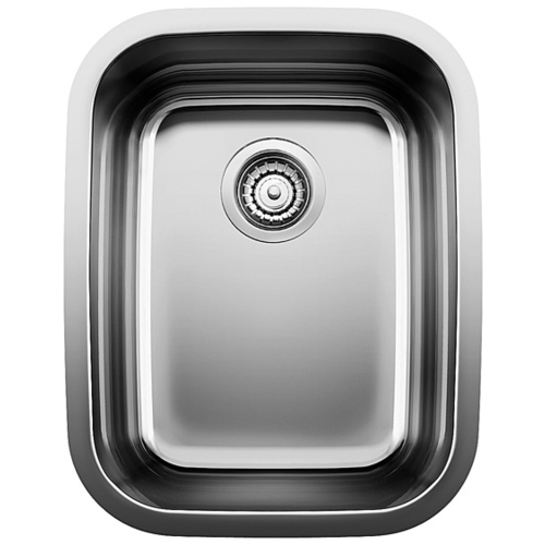 Single Sink Supreme - Stainless Steel - 16.25 x 20.5""