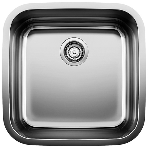 Single Sink Supreme - Stainless Steel - 20.5 x 20.5""