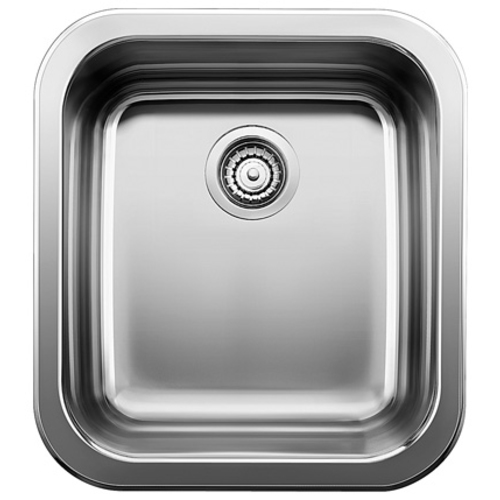 Single Sink Lincoln - Stainless Steel - 14 x 15.5""
