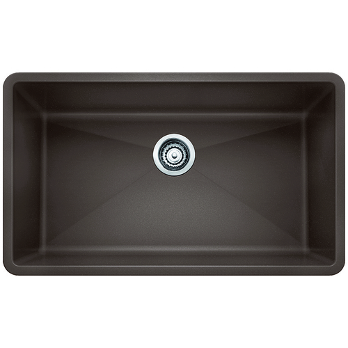 Single Sink Precis - Silgranit® - Café - 32 x 19""