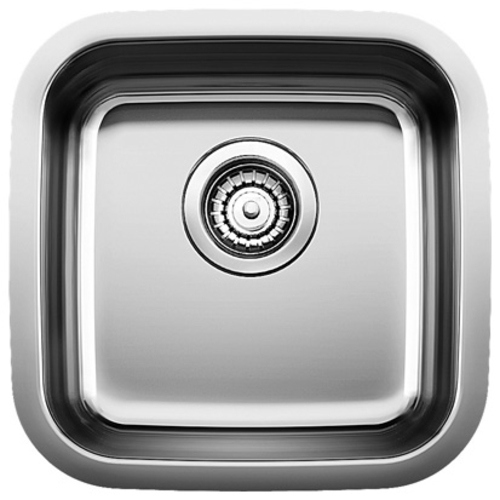 Single Sink Stellar - Stainless Steel - 15 x 15""