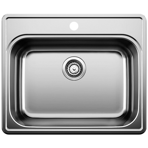 Single Sink Essential - Stainless Steel - 25 x 20.75""