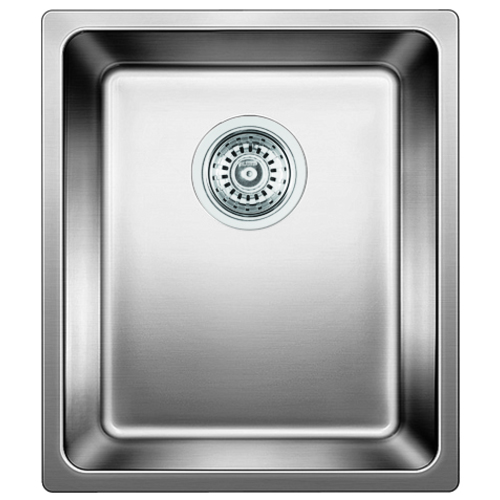 Single Sink Andano - Stainless Steel - 15 x 17.75""