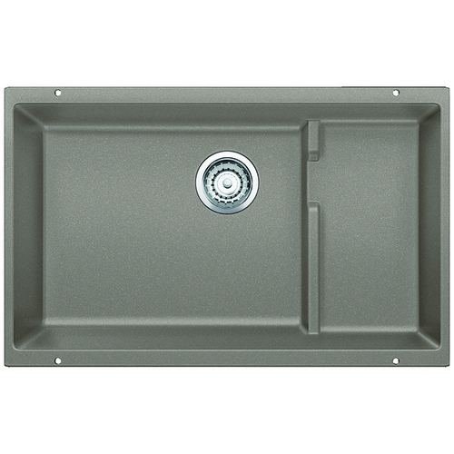 Single Sink Precis - Silgranit® - Truffle - 28.75 x 18""