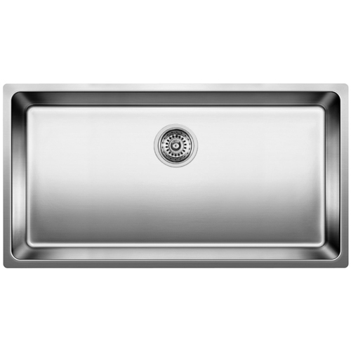 Single Sink Andano - Stainless Steel - 25.25 x 17.75""