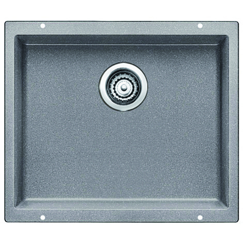Single Sink Precis - Silgranit® - Grey - 20.75 x 18""