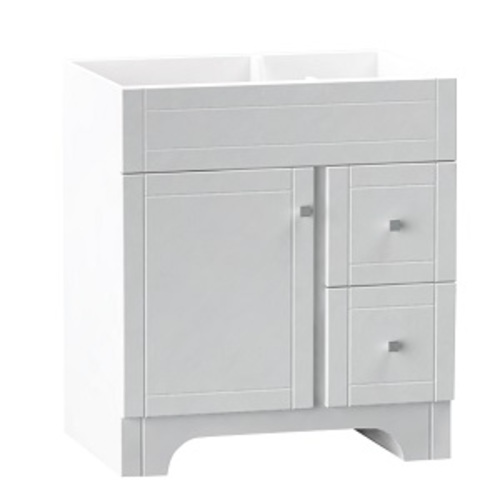 Mirano Vanity 1 Door And 2 Drawers - White Lacquered