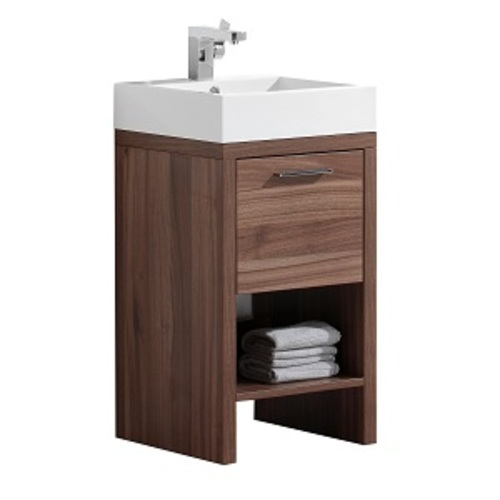 Mirano Vanity 2 Door And 2 Drawers - Brown lacquered