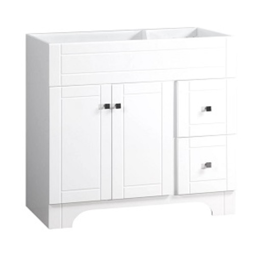 Mirano Vanity 2 Door And 2 Drawers - White lacquered