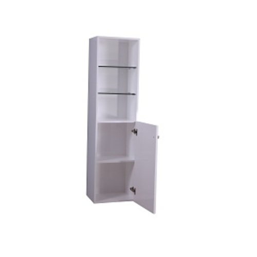 Smally Medicine Cabinet 2 Doors - Grey Lacquered