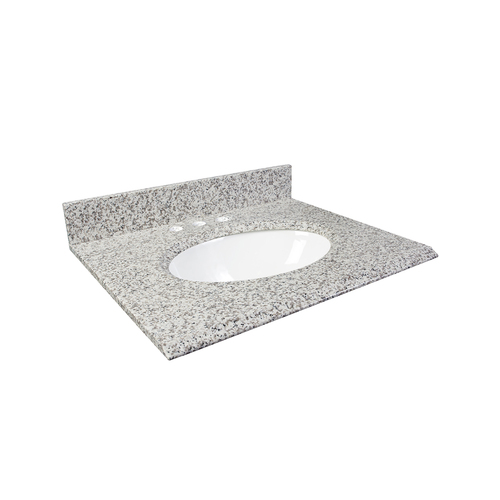 "37"" Vanity - Top China Undermount Sink - White Ash"
