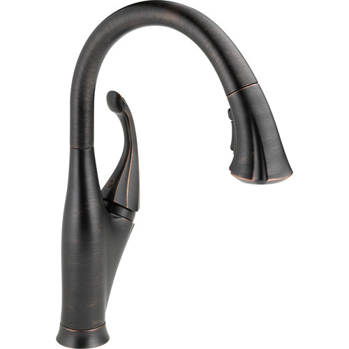 "Water Efficient Kitchen Faucet - ""Addison"" - Venetian Bronze"