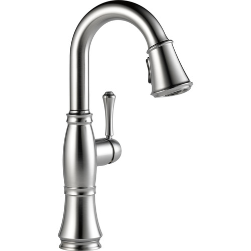 "Single Handle Bar/Prep Faucet - ""Cassidy"" - Arctic Stainless"