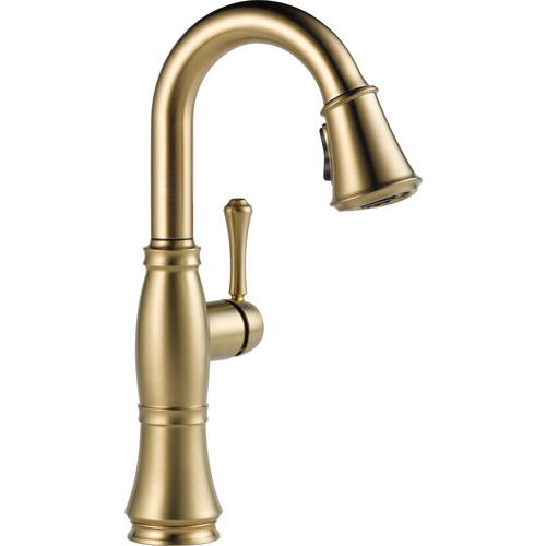 "Single Handle Bar/Prep Faucet - ""Cassidy"" - Champagne Bronze"