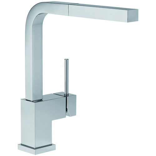 "Kitchen Faucet ""Silhouette"" Silgranit® - Matte Stainless Steel"
