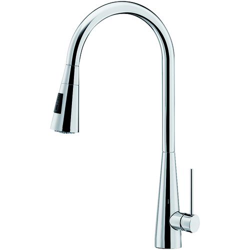 "Kitchen Faucet ""Ice"" - Bright Chrome"