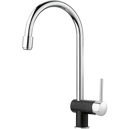 "Kitchen Faucet ""Rita"" - Bright Chrome/Anthracite"