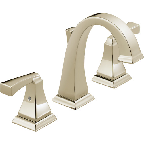 "Two-Handle Lavatory Faucet - ""Dryden"" - Polished Nickel"