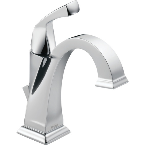 "Single-Handle Lavatory Faucet - ""Dryden"" - Chrome"