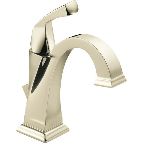 "Single-Handle Lavatory Faucet - ""Dryden"" - Polished Nickel"