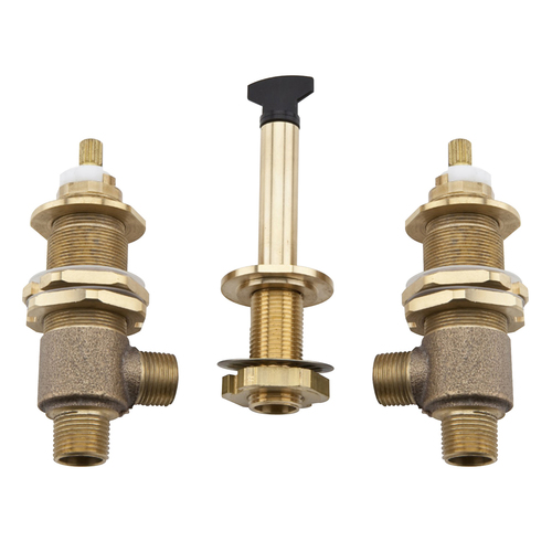 Roman Tub Adjustable Rough Valve with Handshower, 3-Hole