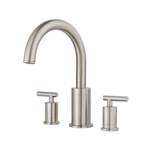 "Roman Tub Faucet - ""Contempra"" - 3-Hole - Brushed Nickel"