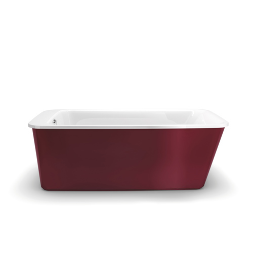 "Bain autoportant « Lounge » 64 x 34"", Ruby"