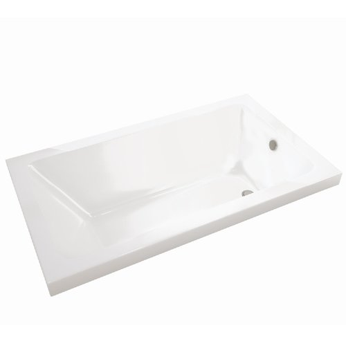 Skybox Drop-In Bathtub - Hydrosens/Aerosens - 72 x 36""