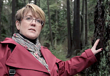 Trish Elgin in forest of British Columbia - RONA Experts